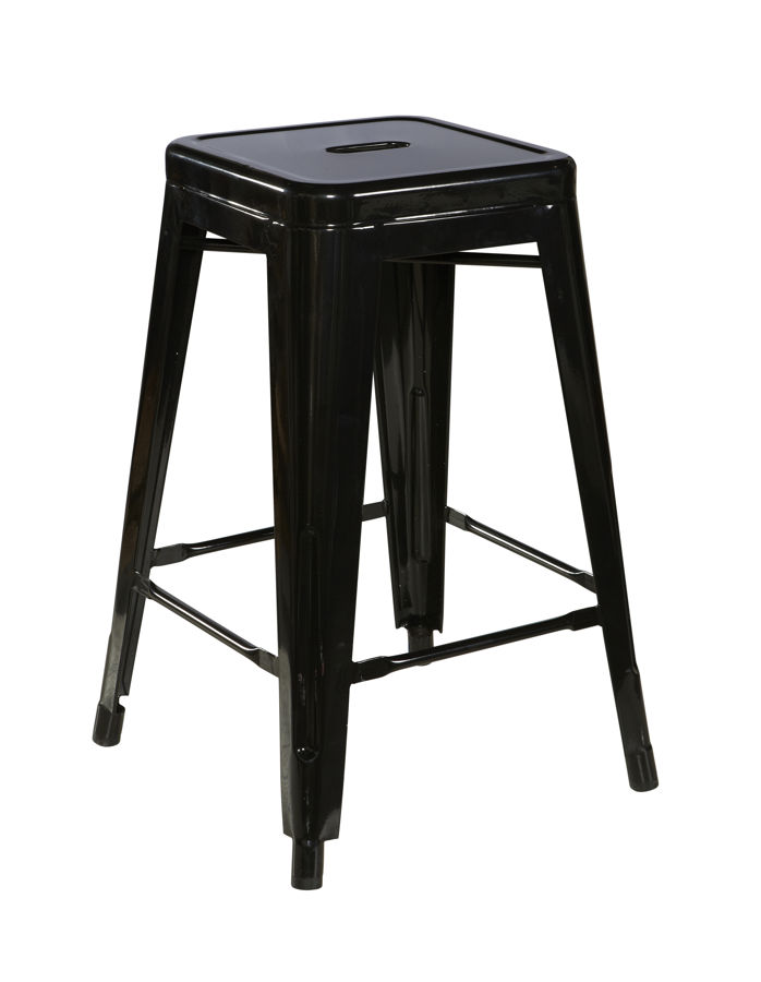 Swell 2 Contemporary Black Metal Square Counter Stools The Pabps2019 Chair Design Images Pabps2019Com