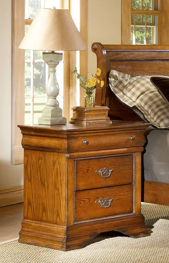 Largo Shenandoah Oak Night Stand The Classy Home