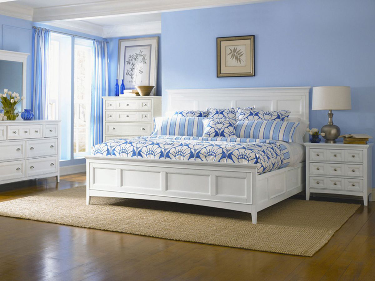 Magnussen Home Kentwood White 2pc Bedroom Set With King Bed The Classy Home
