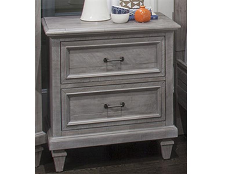 wood drawer nightstand kd
