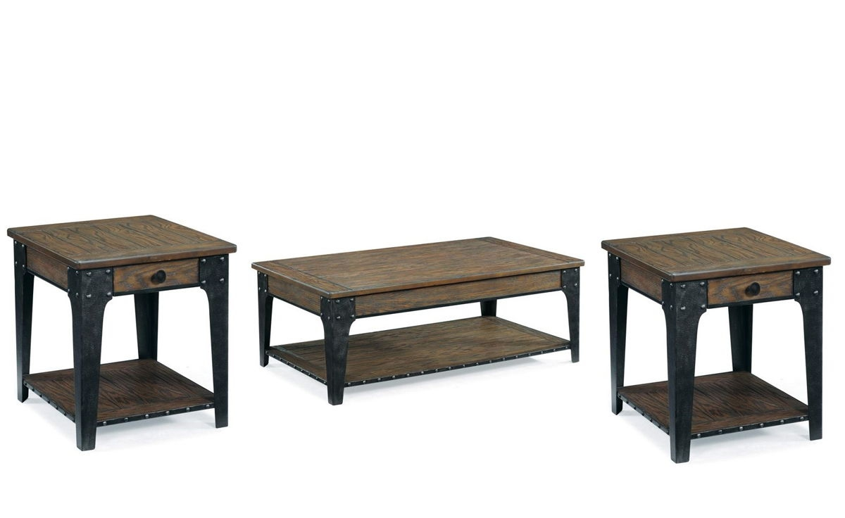 Lakehurst Casual Natural Wood Coffee Table Set Occasional Tables The Classy Home Best Deal
