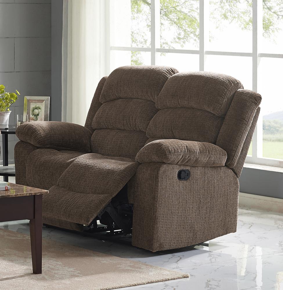 New Classic Furniture Austin Chocolate Dual Recliner