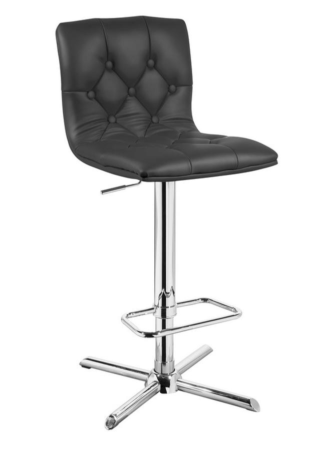 Prime Home Roots Black Faux Leather Tufted Back Bar Stool Lamtechconsult Wood Chair Design Ideas Lamtechconsultcom