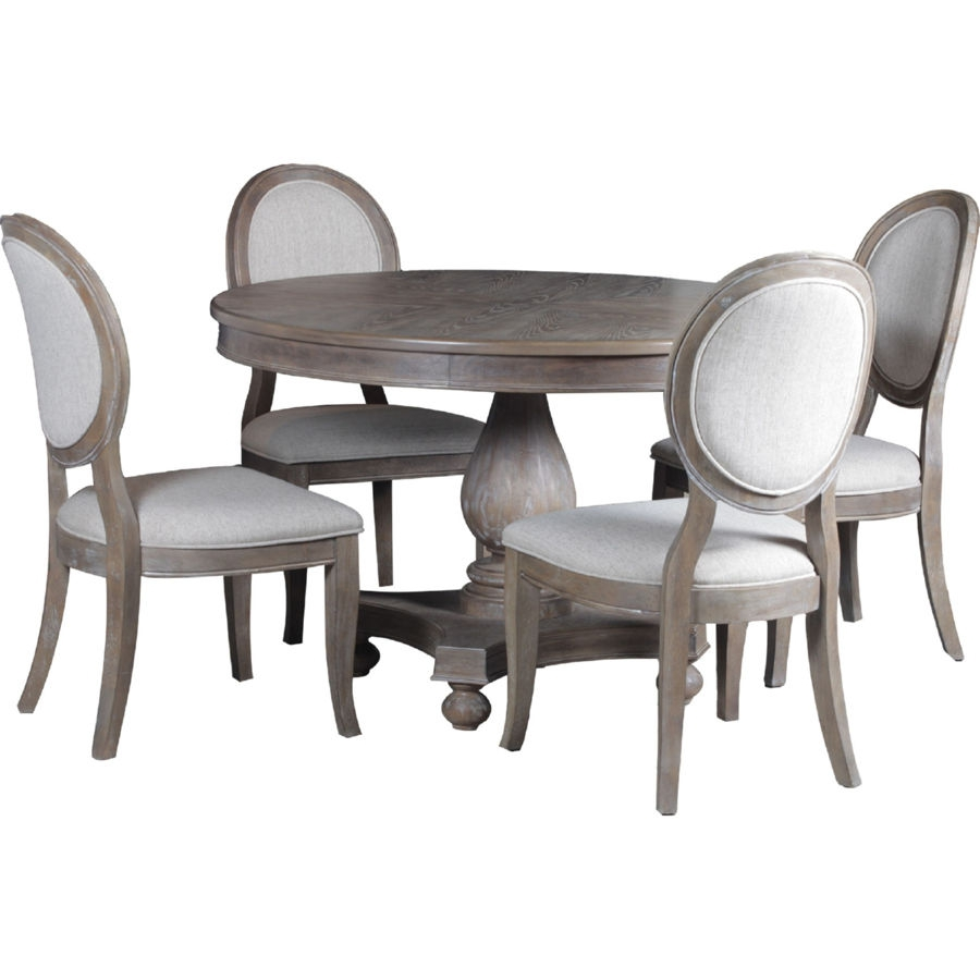 Astonishing Powell Furniture Lenoir 5Pc Dining Room Set Home Interior And Landscaping Transignezvosmurscom