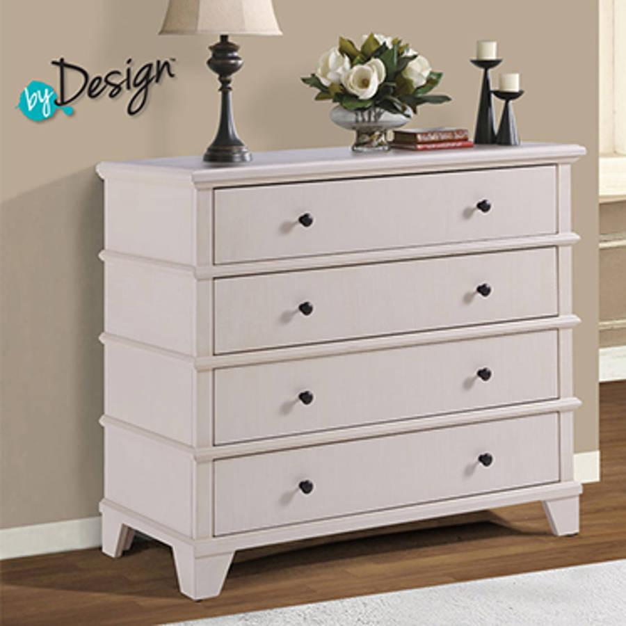 Powell furniture kingston whitewash media console the classy home