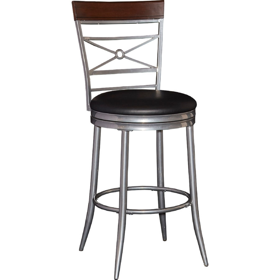 Powell Furniture Rory Black Big And Tall Counter Stool