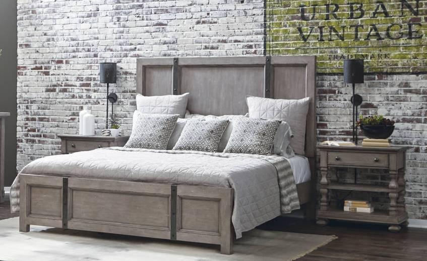Samuel Lawrence Prospect Hill Weathered Grey 2pc Bedroom Set ...