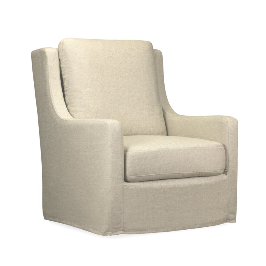 Fine Spectra Home Myles Windfield Natural Slipcover Swivel Chair Bralicious Painted Fabric Chair Ideas Braliciousco