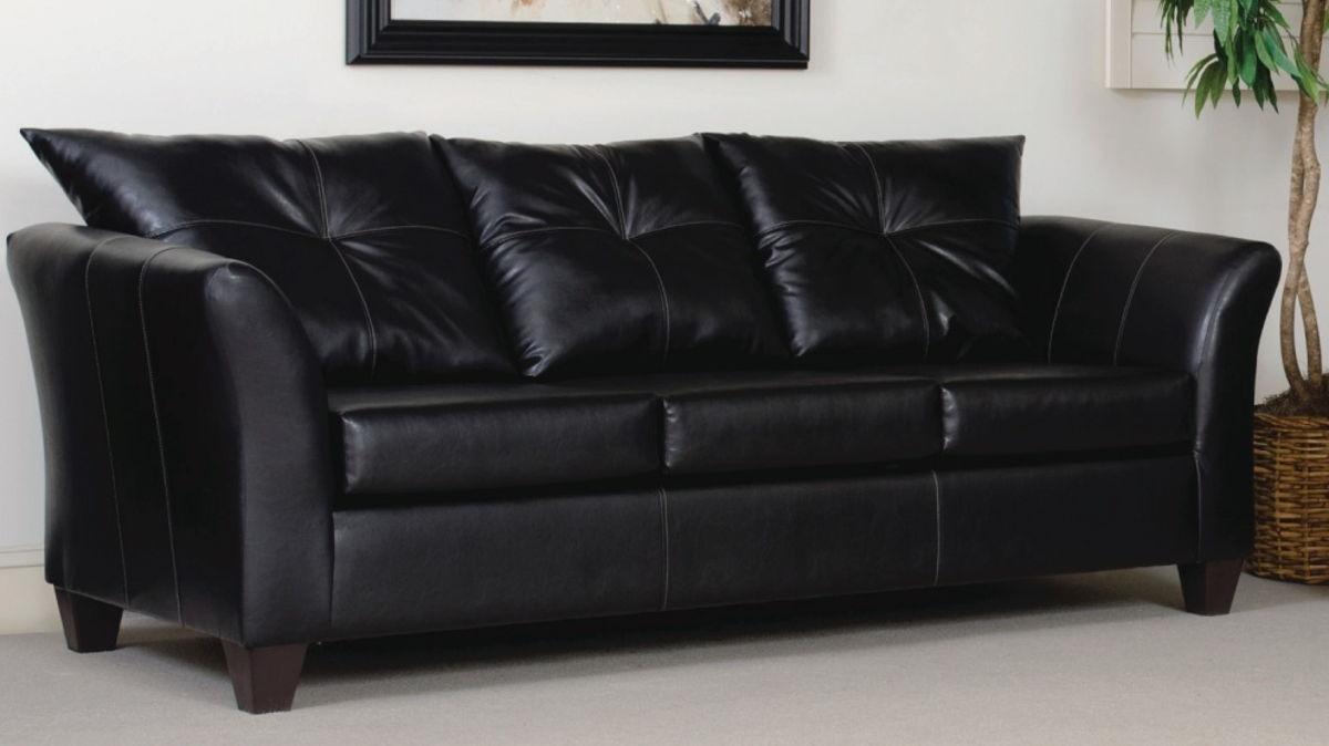 Strange Serta 1050 Series San Marino Ebony Sofa The Classy Home Machost Co Dining Chair Design Ideas Machostcouk