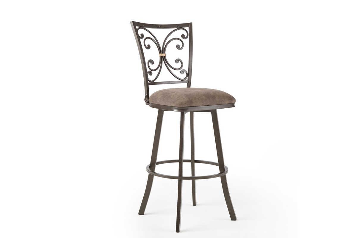 Astounding Steve Silver Corinne Swivel Bar Stool Ibusinesslaw Wood Chair Design Ideas Ibusinesslaworg