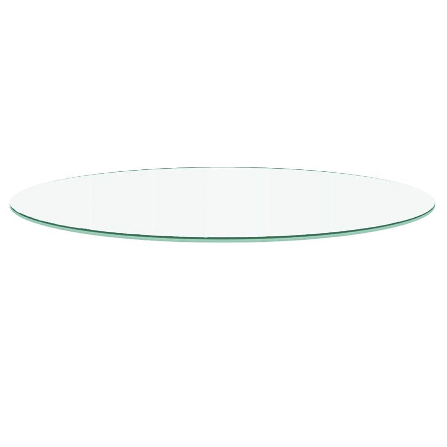 Star International Clear 72 Inch Round Dining Table Top The Cly Home