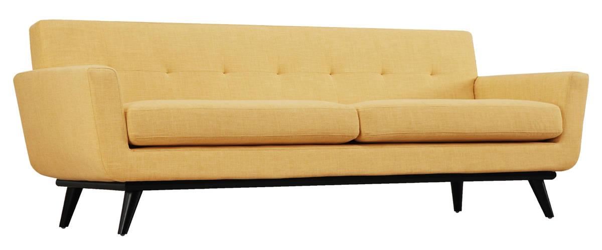 Tov Furniture James Mustard Yellow Linen Sofa The Classy Home