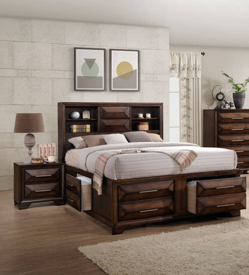 Lane Furniture Anthem 2pc Bedroom Set With Queen Storage Bed