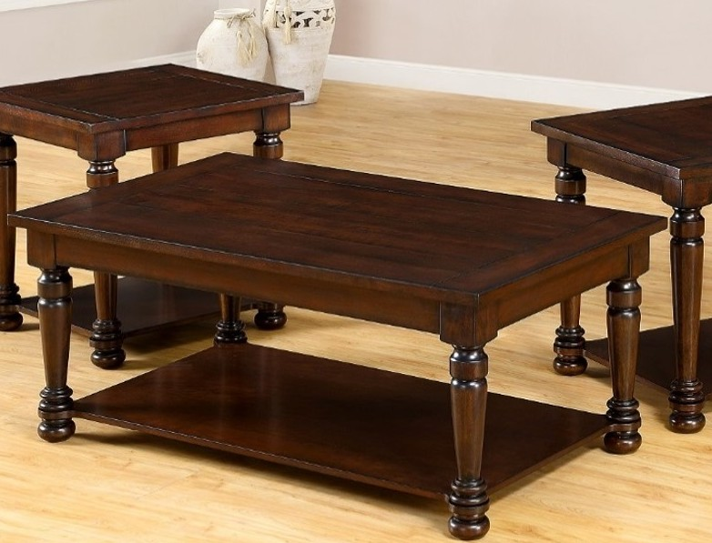 united furniture cherry storage rectangle cocktail table the classy home. Black Bedroom Furniture Sets. Home Design Ideas