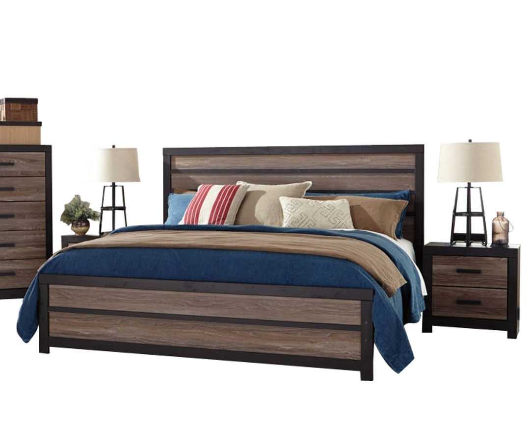 Ashley Furniture Harlinton 2pc Bedroom Set with King Panel Bed